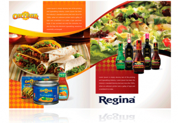 Ortega Sauces brochure