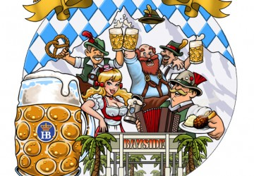 Bavaria Haus characters for logo